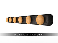 3d model designers hanger button
