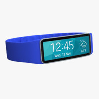 Samsung Gear Fit Blue