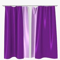 free curtain 3d model