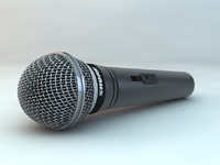 microphone shure 3ds