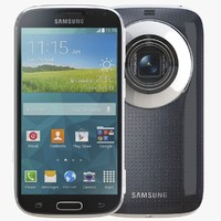 3d model of samsung galaxy k zoom