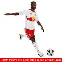 thierry ny henry soccer 3d