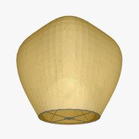 flying lantern 3d lwo