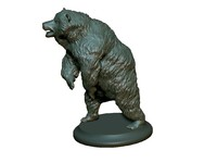 bear sculpture 3d model