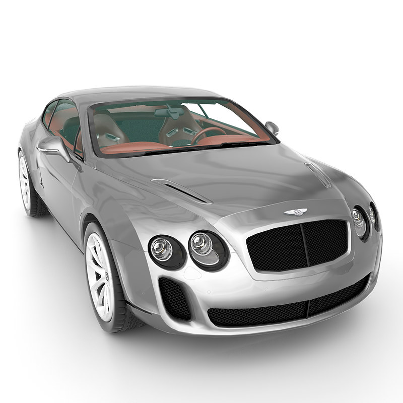 3d Model Bentley Continental Supersports 2010