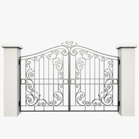 Wrought Iron Gate 31