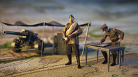 3d soldiers ww1