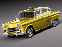 Checker Cab A8 Marathon 1956-1982