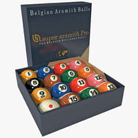 max imperial billiard ball set