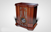 old farm radio 3d model
