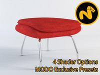 3ds max saarinen womb chair