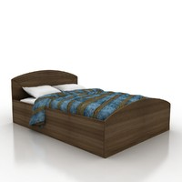 3d bed materials model