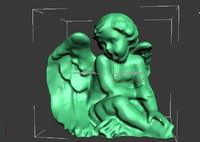 cherub 3d model