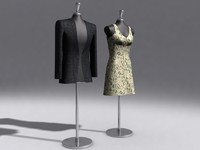 3d dummy showroom model