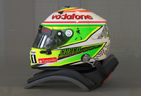 3d perez 2013 f1 helmet model