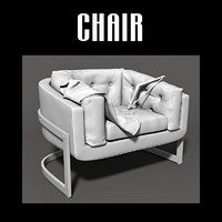 3ds max chair vest hanger
