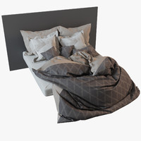 bedclothes materials 3d model