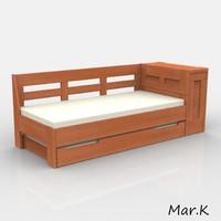 3d bed abelle model