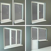 3d plastic windows