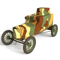 3d polish armored car