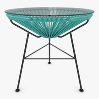 3d model realistic acapulco table