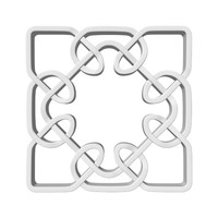 celtic knot 3d model
