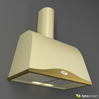 3d boston tile wall range hood