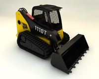 cinema4d skid steer loader