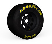 racing tire 3d 3ds