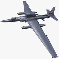 Reconnaissance Aircraft Lockheed U-2 Dragon Lady