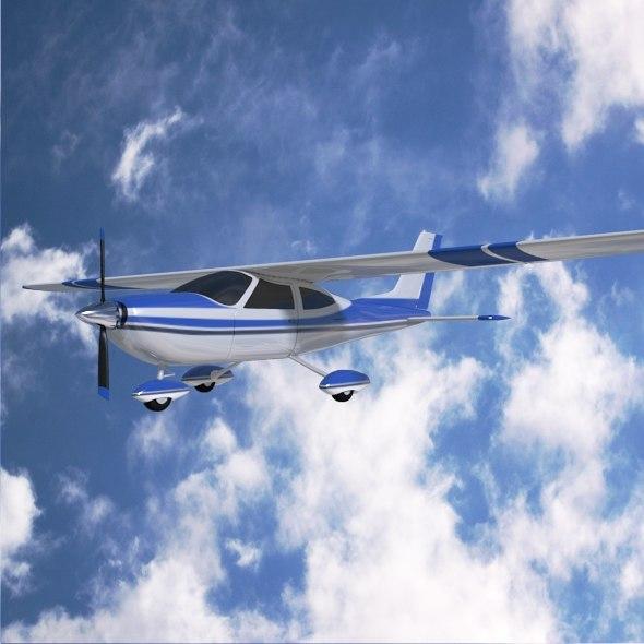 Cessna Cardinal propeller aircraft