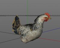 rooster animal 3d 3ds