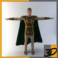 3d max roman emperor