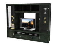 designer wall unit tv cabinet 3ds