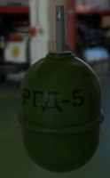 3d rgd-5 hand grenade remote