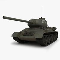 T 34 85 Soviet tank