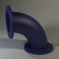 max flanged bend socket 12 inch