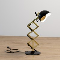 3d billy desk lamp model