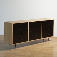 dresser sideboard 3d max