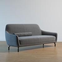 amber sofa 3d max