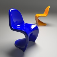 panton chair 3ds free