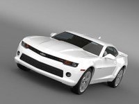 3d chevrolet camaro rs 2014