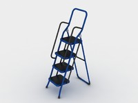 ladder step 3d model