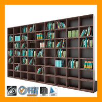 maya wood bookcase