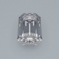 maya emerald cut gemstone