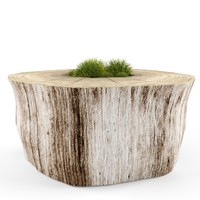 3d max decorative stump