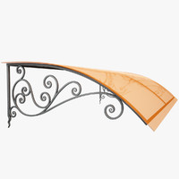 Wrought Iron Awning 18