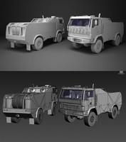 dakar truck 3d model
