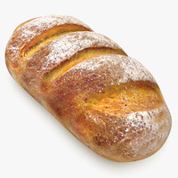 realistic kamut bread 3ds