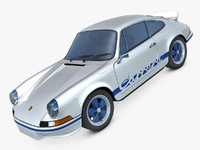 porsche 911 carrera rs 3d c4d